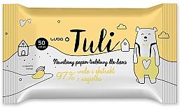 Духи, Парфюмерия, косметика Детская влажная бумага с экстрактом бархатцов - Luba Tulli Baby Wipes