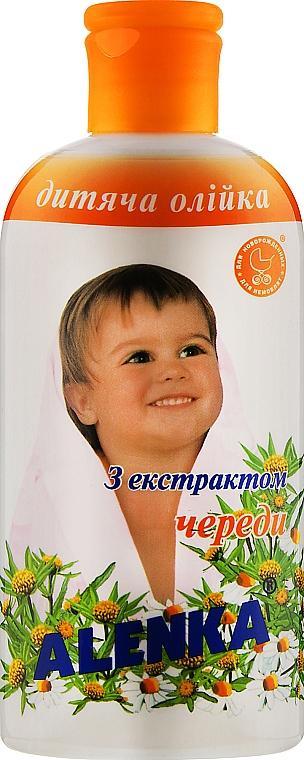 Детское масло с экстрактом череды - Alenka