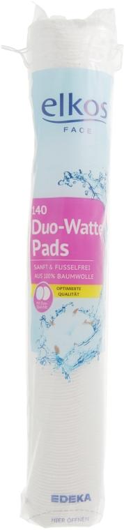 Ватные диски, 140 шт - Elkos Duo-Watte Pads