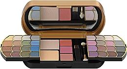 Духи, Парфюмерия, косметика Косметический набор, HB-2537G - Ruby Rose Deluxe Make Up Kit