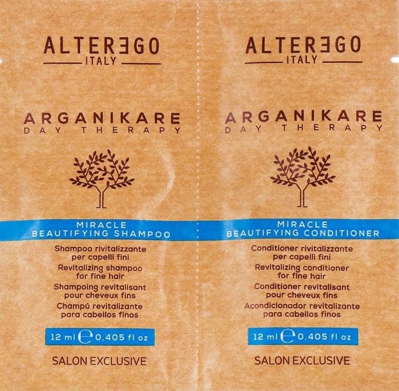 Набор - Alter Ego Arganikare (sh/12 ml + cond/12 ml)