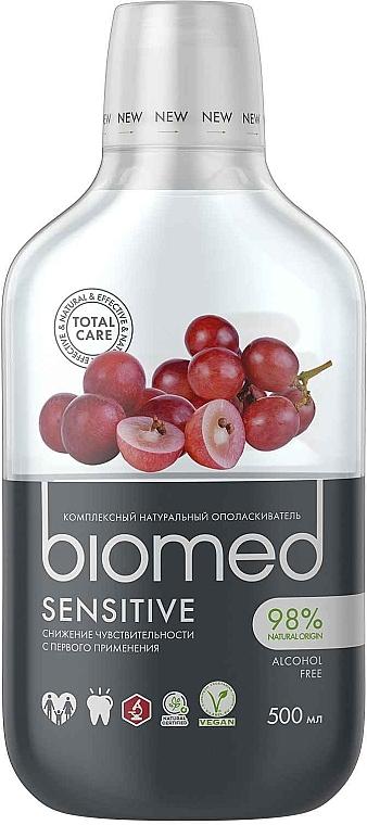 """Антибактериальный ополаскиватель для полости рта для снижения чувствительности """"Виноград"""" - Biomed Sensitive"""