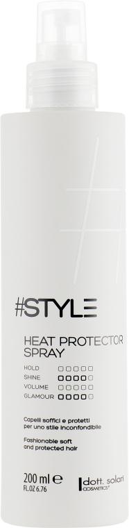 Термозащитный спрей для волос - Dott. Solari Style Heat Protector Spray