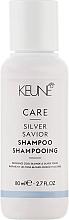 """Духи, Парфюмерия, косметика Шампунь для волос """"Серебряный блеск"""" - Keune Care Silver Savior Shampoo Travel Size"""