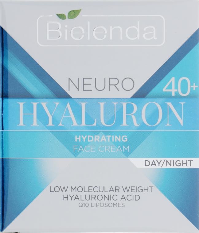 Увлажняющий крем для лица 40+ - Bielenda Neuro Hialuron Hydrating Face Cream