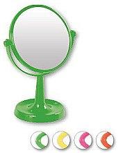 Духи, Парфюмерия, косметика Зеркало на подставке 85734, круглое, 15,5 см, салатовое - Top Choice Colours Mirror