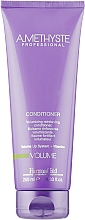 Кондиціонер, надаючий волоссю об'єм - Farmavita Amethyste Volume Conditioner — фото N1