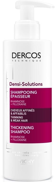 Шампунь для восстановления густоты и объема тонких и ослабленных волос - Vichy Dercos Densi-Solutions Thickening Shampoo