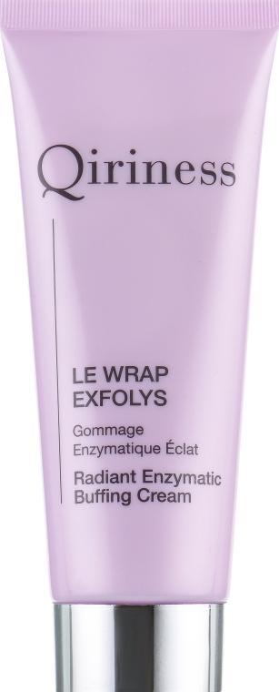 Очищающий крем-гоммаж для лица - Qiriness Radiant Enzymatic Buffing Cream