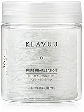 Духи, Парфюмерия, косметика Очищающие пилинг-пэды для лица 100шт - Klavuu Pure Pearlsation PH Balancing Quick Cleansing Pad