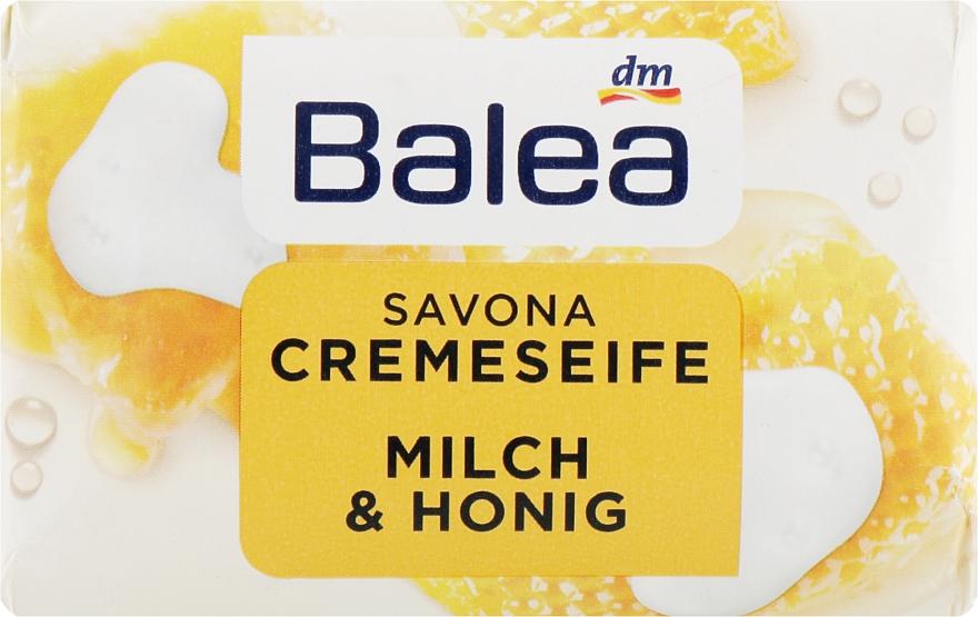 """Туалетное крем-мыло """"Молоко & Мёд"""" - Balea Creme Seife Milch & Honig"""