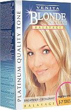 Духи, Парфюмерия, косметика Осветлитель для волос - Venita Blonde De Luxe Balayage