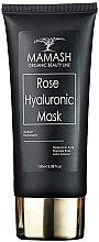 Духи, Парфюмерия, косметика Маска для сияния и выравнивания цвета лица с Гиалуроновой кислотой - Mamash Organic Rose Hyaluronic Mask