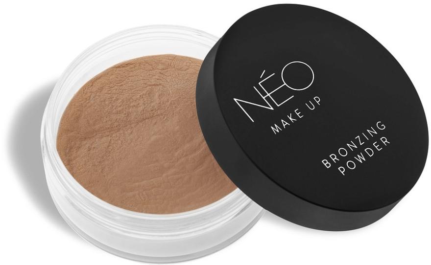 Пудра для лица бронзирующая - NEO Make Up
