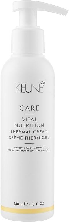 """Термозащитный крем для волос """"Основное питание"""" - Keune Care Vital Nutrition Thermal Cream"""
