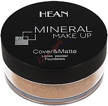 Духи, Парфюмерия, косметика Пудра для лица, минеральная - Hean Mineral Make Up Cover&Matte Loose Mineral Powder