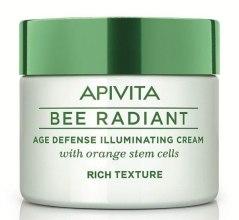 Духи, Парфюмерия, косметика Насыщенный крем для лица - Apivita Bee Radiant Rich Cream