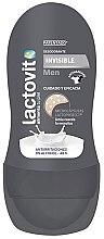 Духи, Парфюмерия, косметика Шариковый дезодорант - Lactovit Men Invisible Deodorant Roll-On