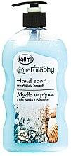 Духи, Парфюмерия, косметика Жидкое мыло для рук с морской солью - Bluxcosmetics Naturaphy Hand Soap