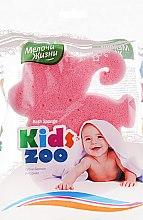 """Духи, Парфюмерия, косметика Губка банная фигурная """"Kidszoo, слон розовый - Мелочи Жизни"""