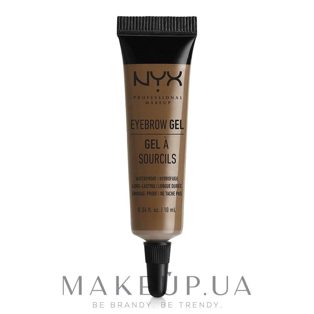 Гель для бровей - NYX Professional Makeup Eyebrow Gel — фото Brunette