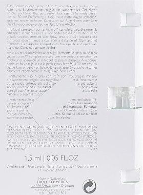 Термальная успокаивающая вода - Declare Stress Balance Skin Meditation Concentrated Spray (пробник) — фото N3