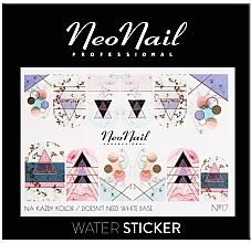 Духи, Парфюмерия, косметика Наклейки для ногтей - NeoNail Professional Water Sticker