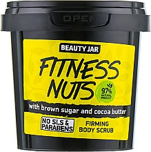 "Скраб для тела укрепляющий ""Fitness Nuts"" - Beauty Jar Firming Body Scrub — фото N2"