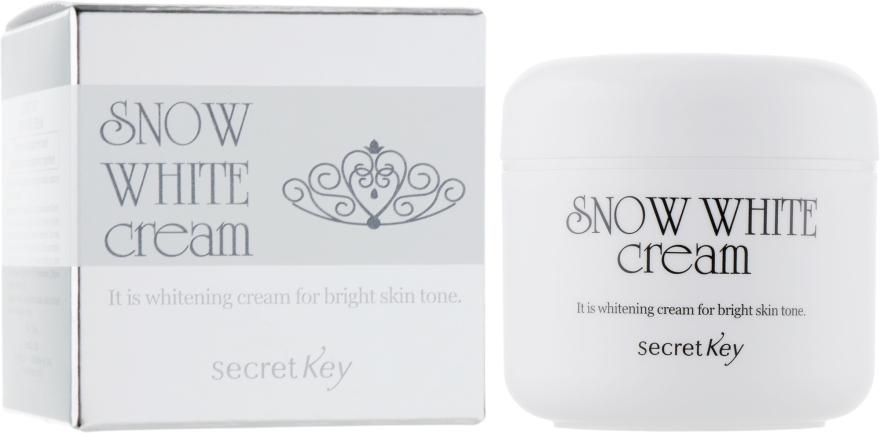 Осветляющий молочный крем - Secret Key Snow White Cream