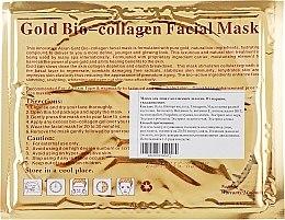 """Маска для лица с коллагеном """"Золотая"""" - Beauty Line Gold Bio-Collagen Facial Mask — фото N4"""