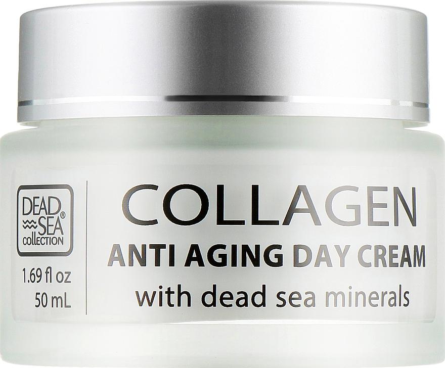 Дневной крем против старения с коллагеном и минералами Мертвого моря - Dead Sea Collection Anti Aging Formula Collagen Day Cream