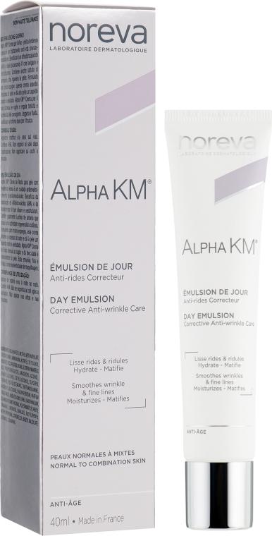 Дневная эмульсия для лица против морщин - Noreva Alpha KM Day Emulsion Corrective Anti-Wrinkle Care