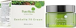 Восстанавливающий крем для кожи лица с экстрактом центеллы - PureHeal's Centella 70 Cream — фото N1