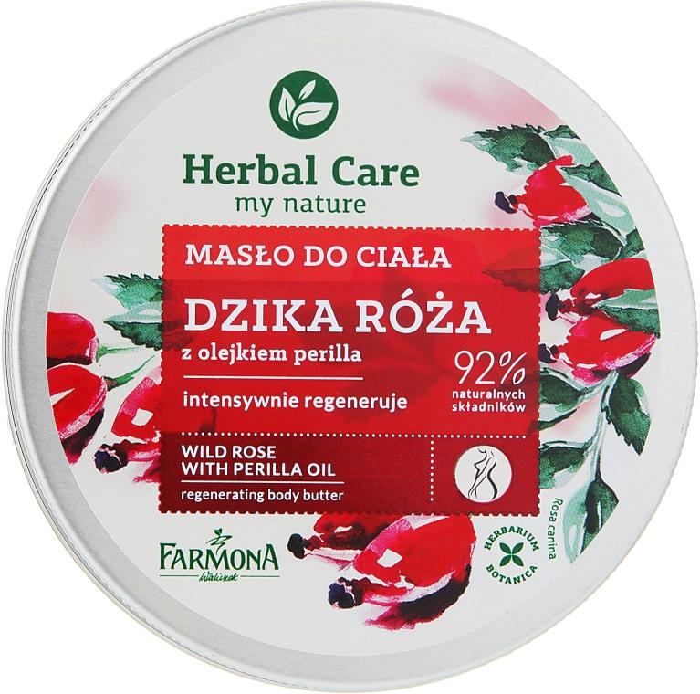 "Сливки для тела ""Шиповник"" - Farmona Wild Rose Regenerating Body Butter"