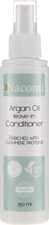 Кондиционер для волос - Nacomi No-Rinse With Moroccan Argan Oil Conditioner — фото N1