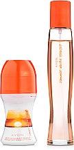 Духи, Парфюмерия, косметика Avon Summer White Sunset - Набор (edt/50ml + deodorant/50ml)