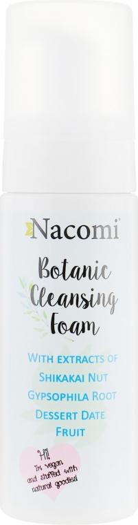 Очищающая пенка для умывания - Nacomi Botanic Cleansing Foam