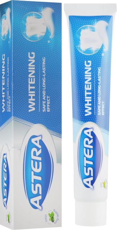 Зубная паста отбеливающая - Astera Whitening Toothpaste