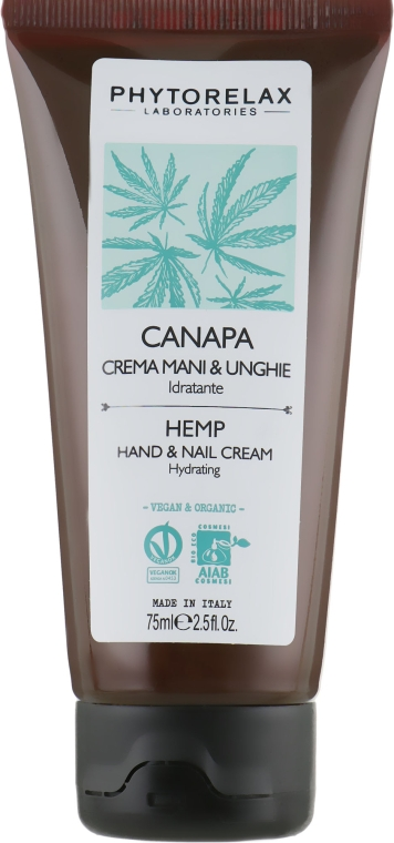 Крем для рук и ногтей - Phytorelax Laboratories Hemp Hand And Nail Cream