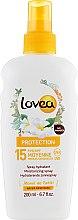 Духи, Парфюмерия, косметика Солнцезащитный спрей с маслом Моной - Lovea Protection Monoi De Tahiti Spray Hydratant SPF15