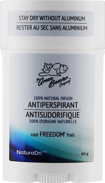"Дезодорант-антиперспирант мужской ""Freedom"" - Green Beaver Antiperspirant"