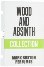 Духи, Парфюмерия, косметика Mark Buxton Wood & Absinth - Парфюмированная вода (пробник)
