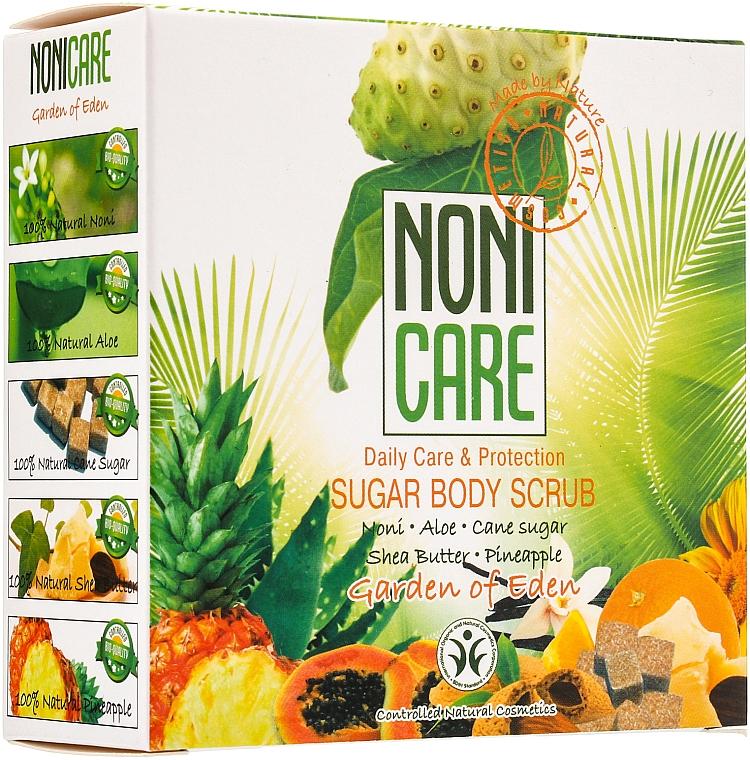 Сахарный скраб для тела c АНА–кислотами - Nonicare Garden Of Eden Sugar Body Scrub