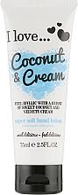 Духи, Парфюмерия, косметика Лосьон для рук - I Love... Coconut & Cream Super Soft Hand Lotion