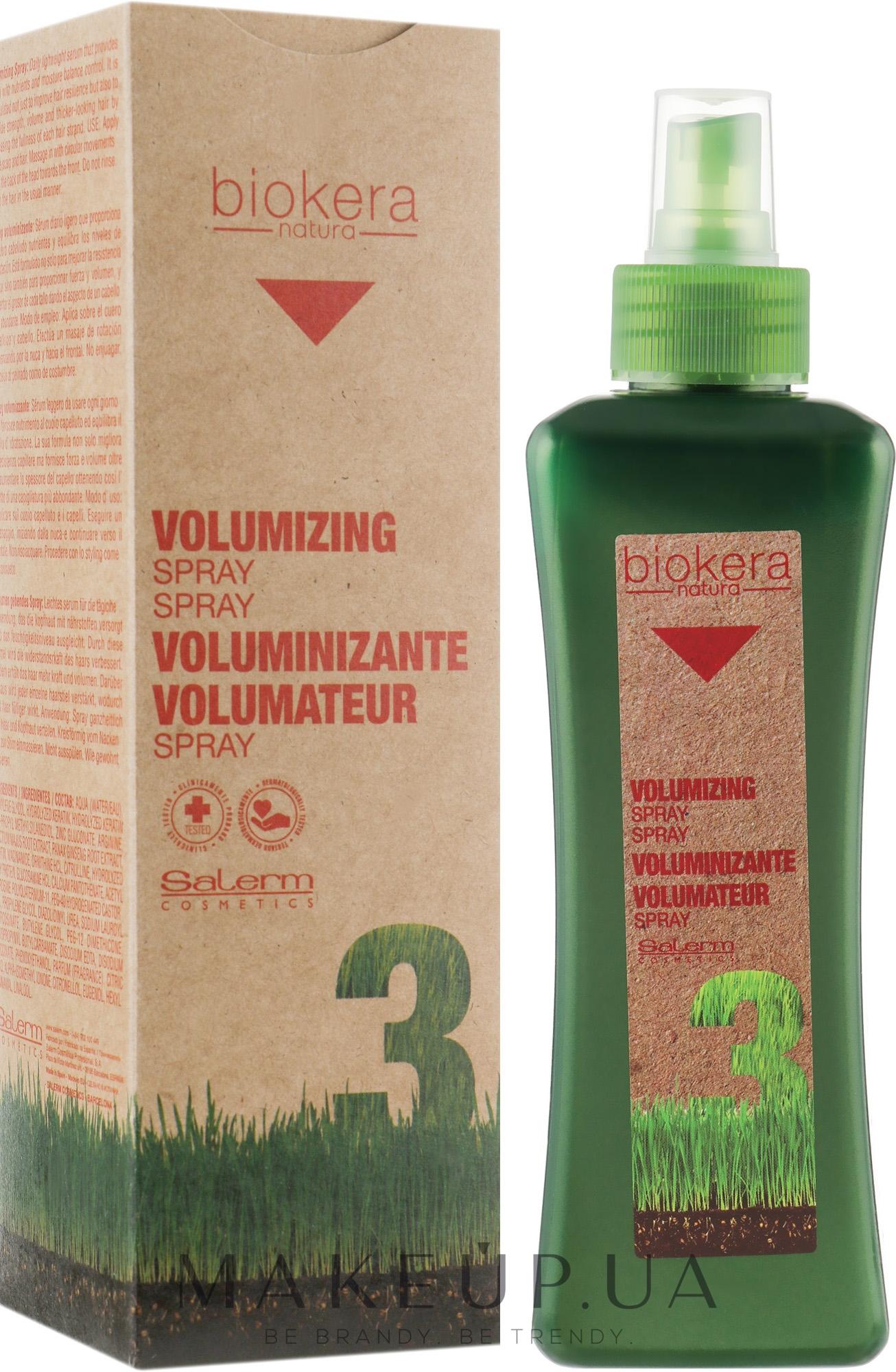 Спрей для створення об'єму - Salerm Biokera Voluminizing Spray — фото 300ml
