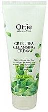 Духи, Парфюмерия, косметика Крем для умывания - Ottie Green Tea Cleansing Cream