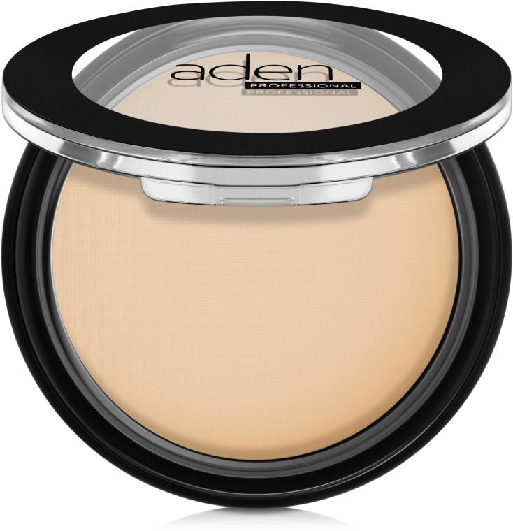 Компактная матовая пудра - Aden Cosmetics Silky Matt Compact Powder