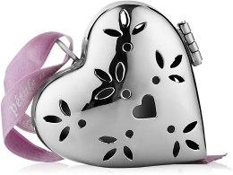 """Духи, Парфюмерия, косметика Ароматизатор в форме маленького сердца """"Лепестки органди"""" - Collines de Provence Heart Pomander Petals Organdy"""
