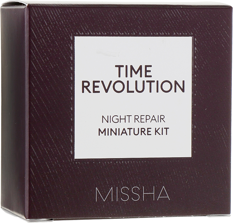 Набор - Missha Time Revolution Night Repair Probio Miniature Kit (f/cr/7ml + serum/10ml)