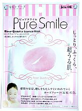 Духи, Парфюмерия, косметика Расслабляющая маска для лица - Pure Smile Luxury Rose Quartz Essence Mask